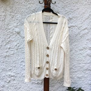 Banana republic knit sweater cardigan